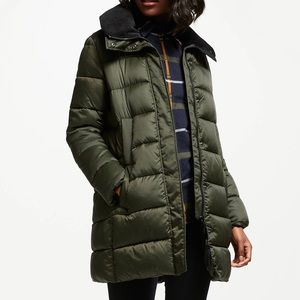 Barbour Heritage Darcy Quilt Baffle Down Jacket